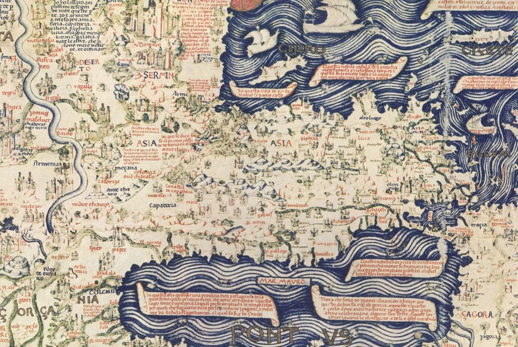 Fra Mauro map of the world