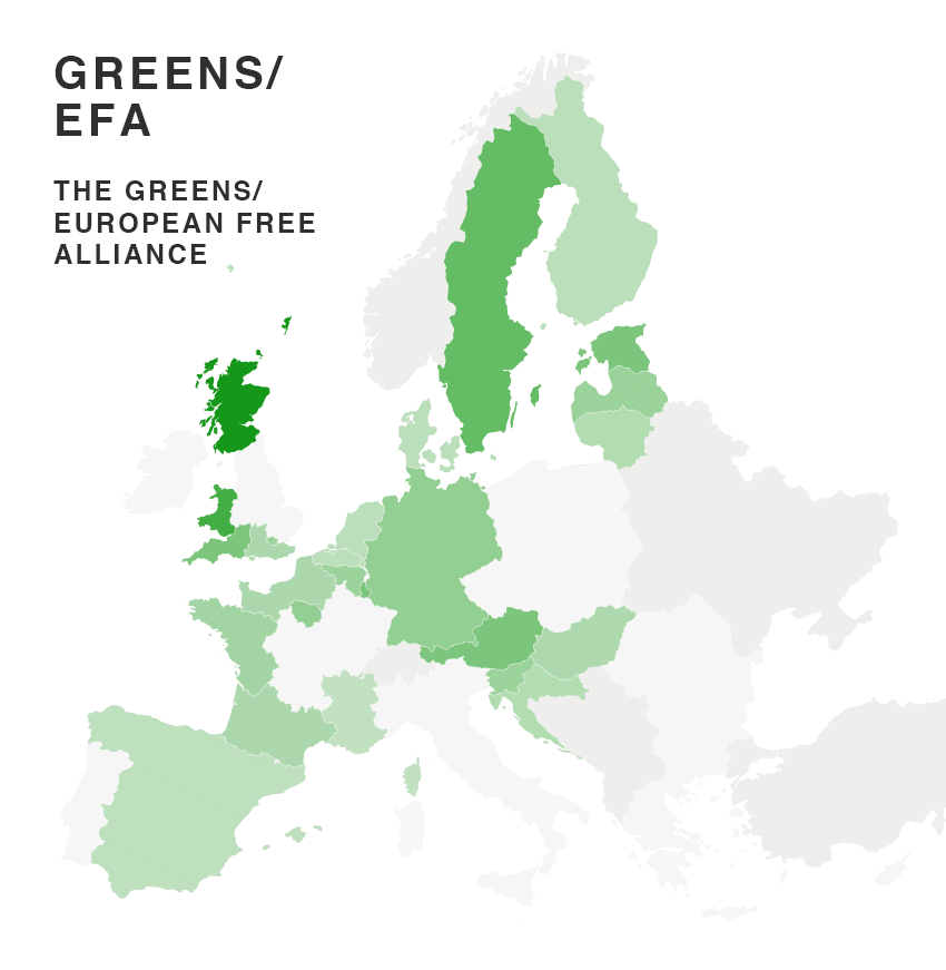 eu election map 2014 party results