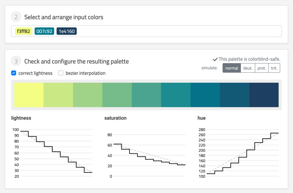 Chroma.js Color Palette Helper