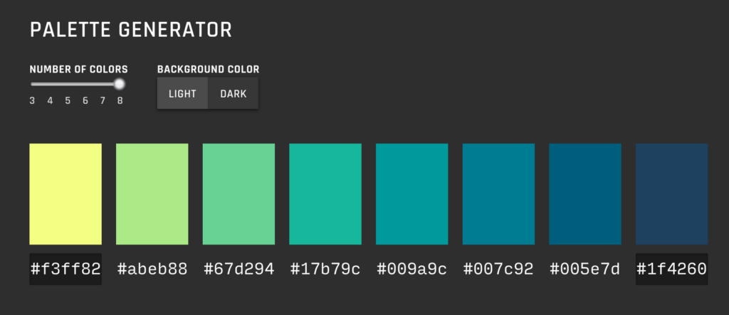 Data Color Picker screenshot