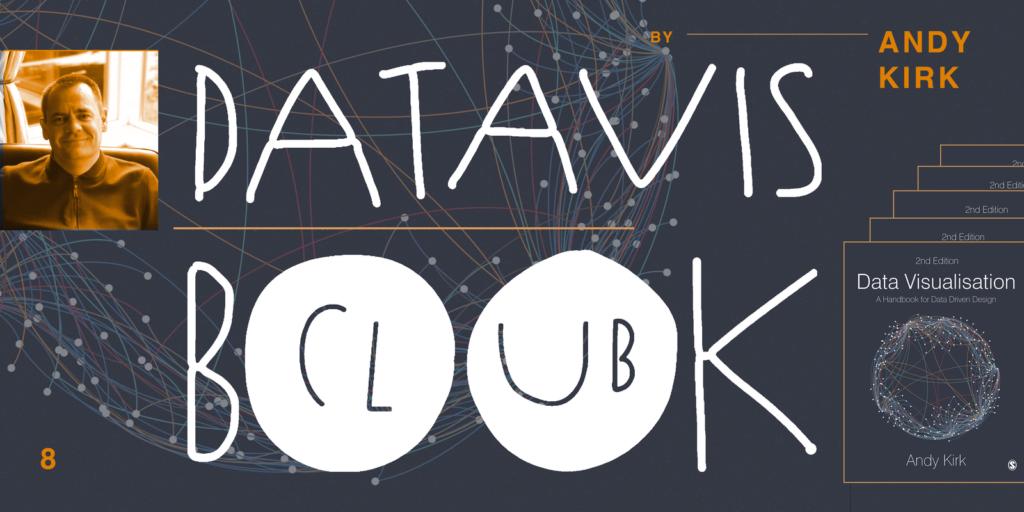 data vis book club cover of andy kirks data visualization handbook