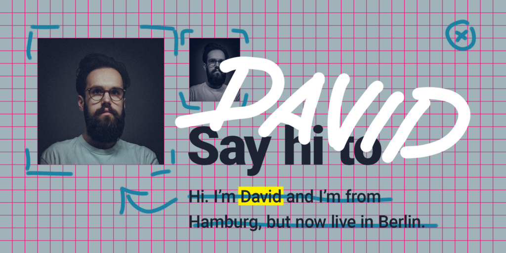 David starts to work at Datawrapper