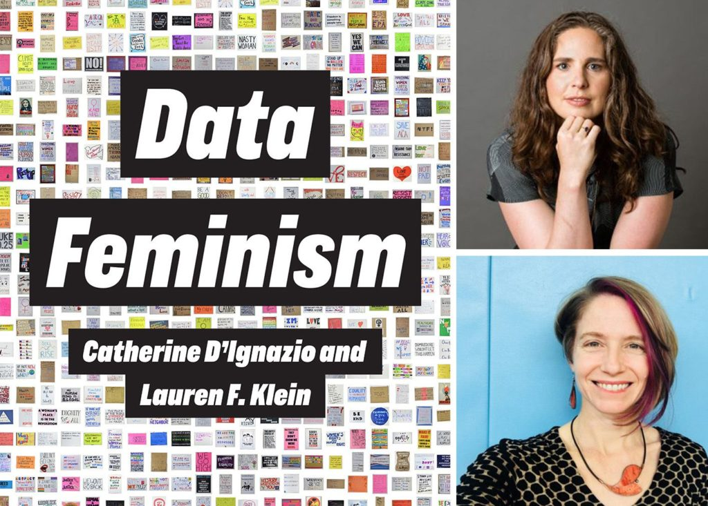 data feminism cover and pics of the authors