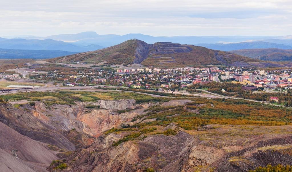 Kiruna view