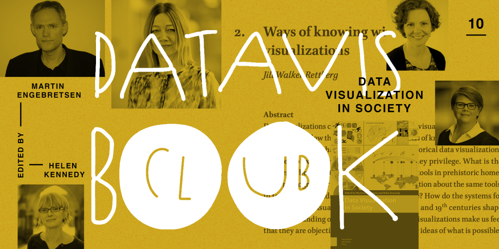 data vis book club cover for the Data Vis in Society book