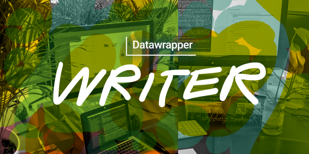 Cover image for marketing writer job post