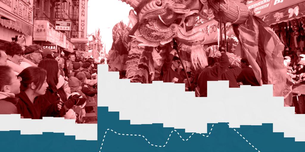 Lunar New Year parade in Manhattan Chinatown